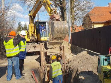 Budowa kanalizacji w Markach
